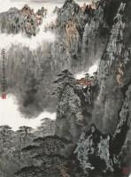 何维朴(1844~1925)  溪山旷远图 -  - 中国书画海上画派作品 - 2005年首届大型拍卖会 -收藏网