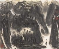 山水 镜心 设色纸本 - 李宝林 - 中国书画(二) - 2006春季拍卖会 -收藏网