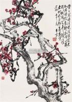 红梅 立轴 设色纸本 - 于希宁 - 中国书画 - 2006秋季书画艺术品拍卖会 -中国收藏网