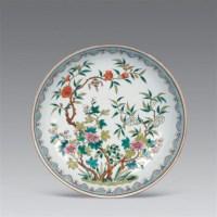 清光绪 粉彩花卉盘 -  - 瓷器工艺品(一) - 2006年第3期嘉德四季拍卖会 -收藏网