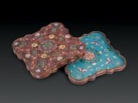 清贡 设色纸轴 -  - 瓷器杂项 - 2006年夏季拍卖会 -中国收藏网