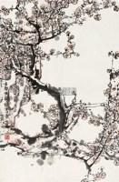 梅 立轴 设色纸本 - 118346 - 中国书画(二) - 2010年秋季艺术品拍卖会 -收藏网