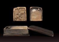 清•多眼端硯 -  - 文房清玩 历代名砚专场 - 2008年春季拍卖会 -中国收藏网