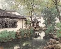 园林 镜心 设色纸本 - 17370 - 中国书画(一) - 2006春季拍卖会 -中国收藏网