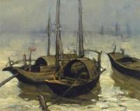帆船 布面油画 - 邱瑞敏 - 中国油画  - 2010年秋季艺术品拍卖会 -收藏网