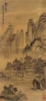 梧溪夜月图 - 80482 - 中国书画古代作品 - 2006春季大型艺术品拍卖会 -收藏网