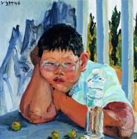 刘小东  胖儿子 - 71265 - 名家西画 当代艺术专场 - 2008年秋季艺术品拍卖会 -收藏网