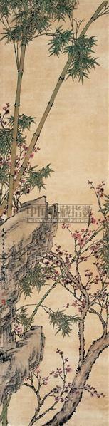 梅竹双清图 - 7948 - 中国书画古代作品 - 2006春季大型艺术品拍卖会 -收藏网