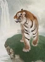 虎王 布面油画 - 83914 - 中国油画  - 2010年秋季艺术品拍卖会 -收藏网