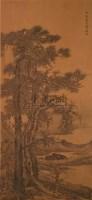 山水 立轴 设色绢本 - 钱榖 - 中国书画 - 2010年秋季艺术品拍卖会 -收藏网