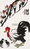 玉堂富贵图 镜片 设色纸本 - 116481 - 中国书画(二) - 2010年秋季艺术品拍卖会 -收藏网