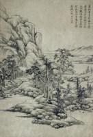 山水 -  - 2010上海宏大秋季中国书画拍卖会 - 2010上海宏大秋季中国书画拍卖会 -收藏网