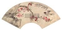 春燕 扇面 设色纸本 - 刘德六 - 中国书画 - 第9期中国艺术品拍卖会 -收藏网