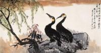 唐  云(1910~1993)  秋江新阳 -  - 近现代名家作品(二)专场 - 2005秋季大型艺术品拍卖会 -收藏网