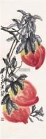 寿桃 立轴 设色纸本 - 116087 - 中国书画(一) - 2006春季拍卖会 -收藏网