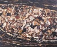段正渠 1996年作 货船 - 段正渠 - 西画雕塑(上) - 2006夏季大型艺术品拍卖会 -收藏网