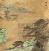 立轴 纸本 - 袁江 - 中国书画 - 2010秋季艺术品拍卖会 -收藏网