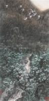 玉兰谷 镜心 设色纸本 - 6234 - 中国书画夜场 - 2010秋季艺术品拍卖会 -收藏网