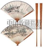 花卉 山水 -  - 中国书画成扇 - 2006春季大型艺术品拍卖会 -收藏网