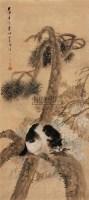 松猫 镜片 纸本 - 王震 - 中国书画(上) - 2010瑞秋艺术品拍卖会 -收藏网