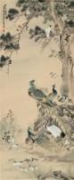 百鸟朝凰 立轴 设色纸本 - 朱文侯 - 中国书画一 - 2010秋季艺术品拍卖会 -收藏网