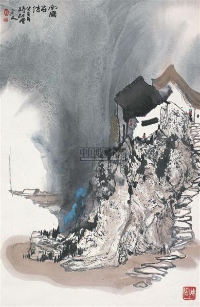 南国寻诗 立轴 设色纸本 - 6147 - 中国书画(一) - 2010年秋季艺术品拍卖会 -收藏网