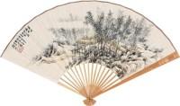 山水 成扇 纸本 - 樊浩霖 - 中国书画(上) - 2010瑞秋艺术品拍卖会 -收藏网