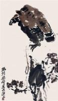 鹰 - 梁崎 - 2010上海宏大秋季中国书画拍卖会 - 2010上海宏大秋季中国书画拍卖会 -中国收藏网