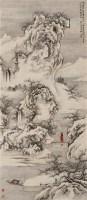山水 镜心 设色纸本 - 周怀民 - 中国书画一 - 2010秋季艺术品拍卖会 -收藏网