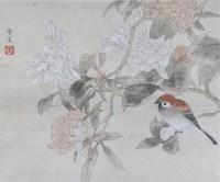 花鸟 纸本 镜框 - 陈之佛 - 中国书画(二)无底价专场 - 天目迎春 -收藏网