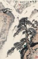 万壑松风 立轴 设色纸本 - 关山月 - 中国近现代书画(二) - 2010秋季艺术品拍卖会 -中国收藏网