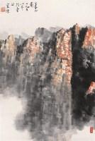 暮山图 镜心 设色纸本 - 宋涤 - 中国书画 - 第54期书画精品拍卖会 -中国收藏网