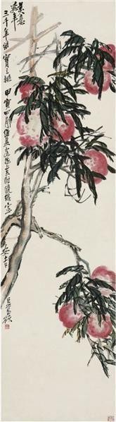 吴昌硕   美意延年 - 116056 - 中国书画近现代名家作品专场 - 2008年秋季艺术品拍卖会 -收藏网