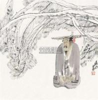人物 镜心 纸本设色 - 袁武 - 中国当代书画 - 2010秋季艺术品拍卖会 -收藏网