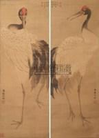 鹤 立轴 设色绢本 - 沈铨 - 中国书画 - 2010年秋季艺术品拍卖会 -收藏网