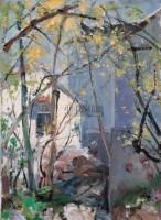 三月阳光 布面  油画 - 苏天赐 - 华人西画 - 2006年度大型经典艺术品拍卖会 -收藏网