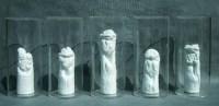 譚勳(b.1974)收藏製造——異相之二(一組五件) -  - 首届当代中国雕塑专场 - 2008年春季拍卖会 -中国收藏网