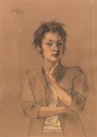 庞茂琨 人物 纸本水粉 - 庞茂琨 - (西画)当代艺术专题 - 2006年秋季精品拍卖会 -收藏网