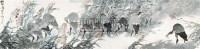 群鹭图 镜心 纸本设色 - 15413 - 中国当代书画 - 2010秋季艺术品拍卖会 -收藏网