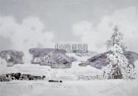 仙女山·雪(四) 布面  油画 - 翁凯旋 - 中国油画 - 2006春季拍卖会 -收藏网