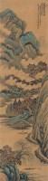 秋钓图 立轴 设色绢本 - 姜筠 - 扇画·古代书画专场 - 2006夏季书画艺术品拍卖会 -收藏网