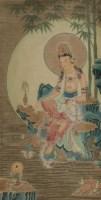 丁观鹏 观世音像 立轴 - 丁观鹏 - 中国书画、油画 - 2006艺术精品拍卖会 -收藏网