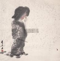王有政 童趣图 片 设色纸本 - 王有政 - 中国油画·当代名家书画 - 2006艺术品拍卖会 -中国收藏网