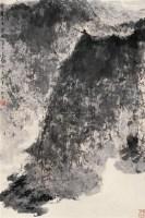 高士策杖图 立轴 设色纸本 - 116002 - 中国近现代书画(一) - 2010秋季艺术品拍卖会 -收藏网