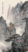 溪山松壑 立轴 设色纸本 - 应野平 - 中国近现代书画(二) - 2010秋季艺术品拍卖会 -收藏网