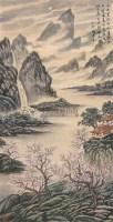 青绿山水 镜片 纸本 - 陶冷月 - 中国书画(下) - 2010瑞秋艺术品拍卖会 -中国收藏网