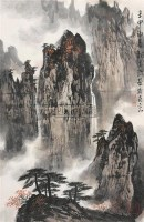 山水 立轴 纸本 - 魏紫熙 - 中国书画(下) - 2010瑞秋艺术品拍卖会 -中国收藏网