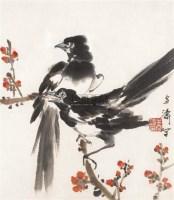 双喜图 镜心 设色纸本 - 王雪涛 - 中国书画(一) - 2006春季拍卖会 -收藏网