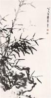 墨竹 立轴 水墨纸本 - 116631 - 中国书画(一) - 2006春季拍卖会 -收藏网
