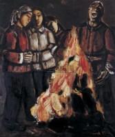 歌唱者 布面  油画 - 段正渠 - 华人西画 - 2006年度大型经典艺术品拍卖会 -收藏网